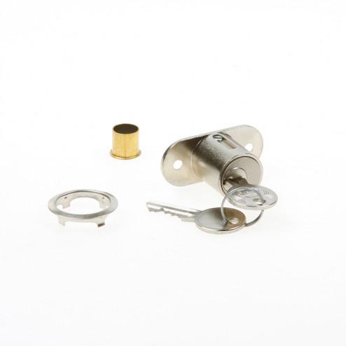 JuNie Meubelslot schuifdeurslot met drukcilinder 23mm 2960