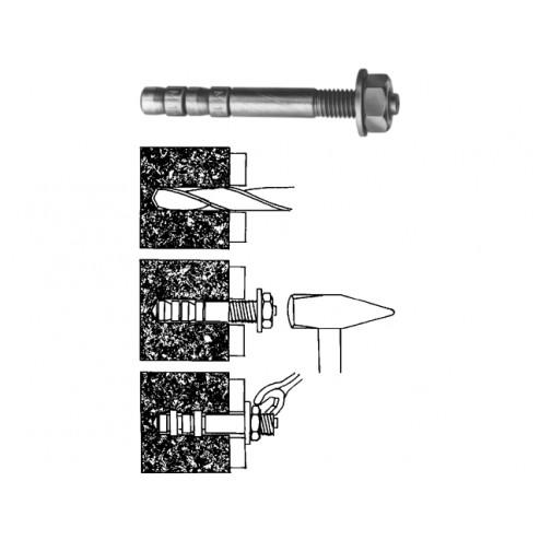 Sormat doorsteekanker S-KA m12 x 118mm dikte 20mm