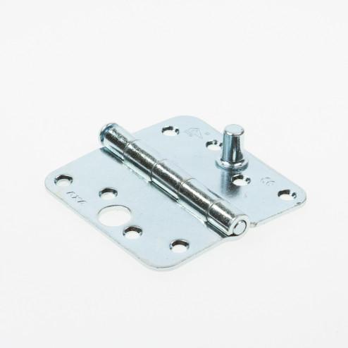 Axa Veiligheidsscharnier ronde hoeken topcoat gegalvaniseerd 89 x 89mm SKG*** 1114-25-23/V4E