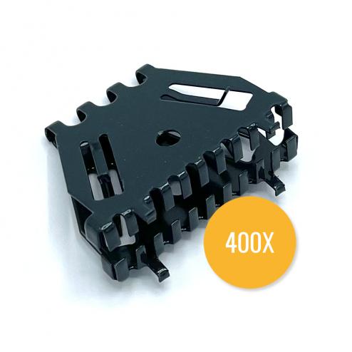 Bijenbekje 50mm - RAL 7016 Antraciet (Doos van 400 stuks) - Stootvoegrooster