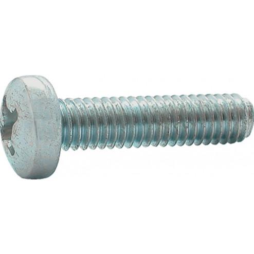 Hoenderdaal Metaalschroef cilinderkop verzinkt 4.8 M4 x 60mm