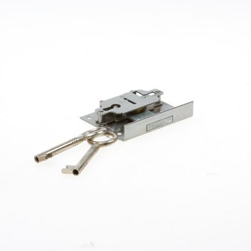 JuNie Meubelslot type 611 Doornmaat 35mm inclusief twee sleutels