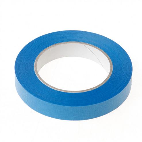 Afplaktape blauw 19mm x 50 meter