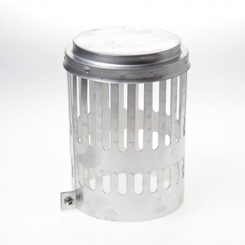 Wit & Zoon Kraaiekap aluminium 150mm