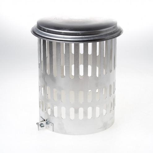 Wit & Zoon Kraaiekap aluminium 180mm