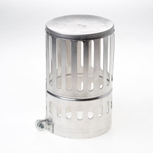 Wit & Zoon Kraaiekap aluminium 120mm
