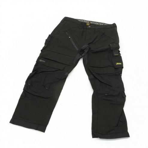 Snickers RuffWork broek zwart maat S taille 48 W32