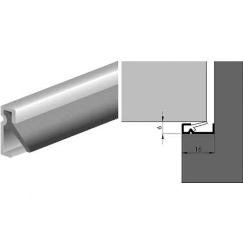 Luvema Nieuwbouwprofiel acrylbestendig 3 meter G4.725AR