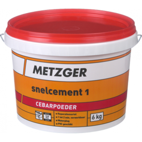 Metzger Snelcement 6kg