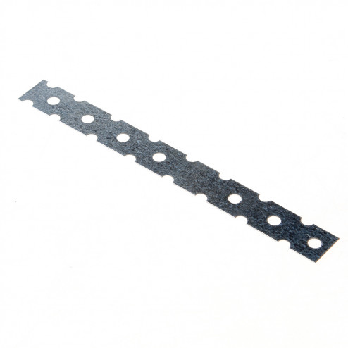 GB Lijmkoppelstrip sendzimir verzinkt 200 x 22mm 21210