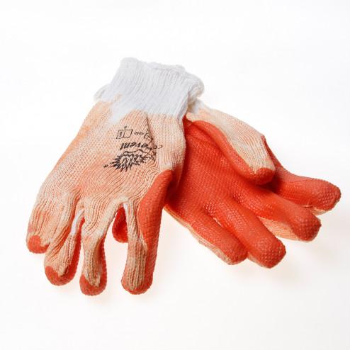 Rehamij Handschoen prevent extra ventilatie oranje maat L(9)