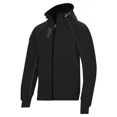 Snickers zipped hoodie zwart xl