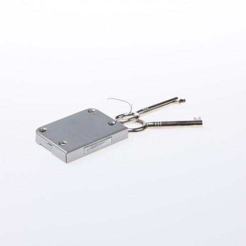 JuNie Meubelslot type 760 Doornmaat 25mm inclusief twee sleutels