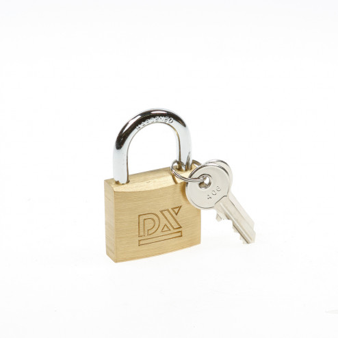 Dulimex Cilinderhangslot HS 406B KA 40mm sleutelnummer 406 dubbel vergrendeld 0182.400.2406