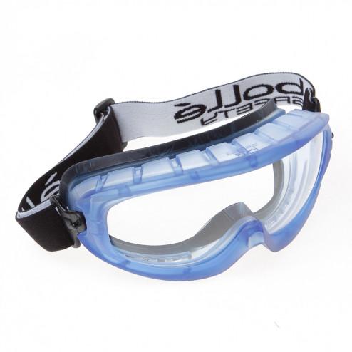Bolle Veiligheidsstofbril helder met foam rand