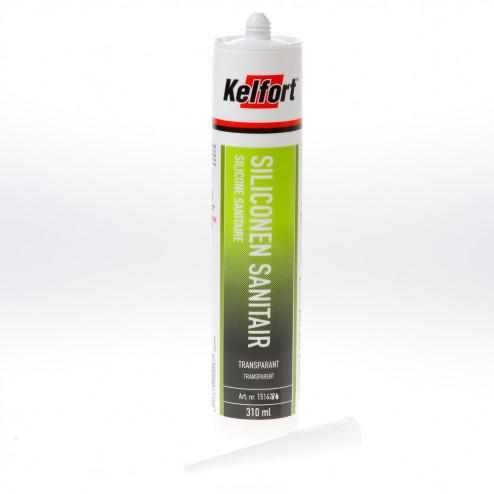 Kelfort Siliconenkit sanitair transparant 310 ml
