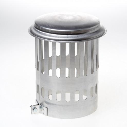 Wit & Zoon Kraaiekap aluminium 140mm