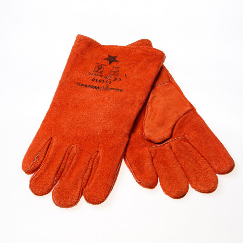 Rehamij Lashandschoen oranje bruin maat XL(10)