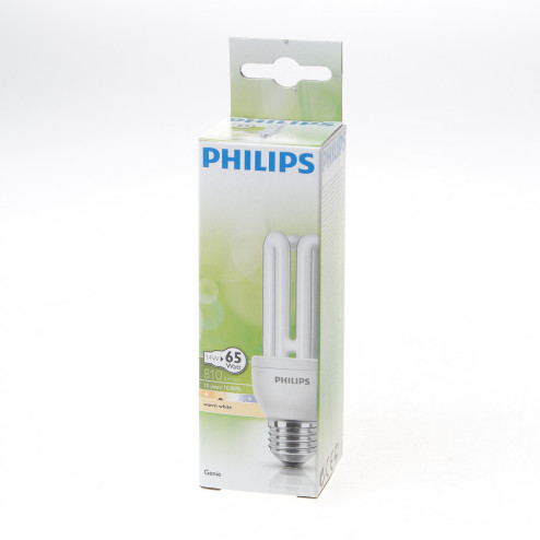 Philips Genie spaarlamp ESaver 14W 827 E27