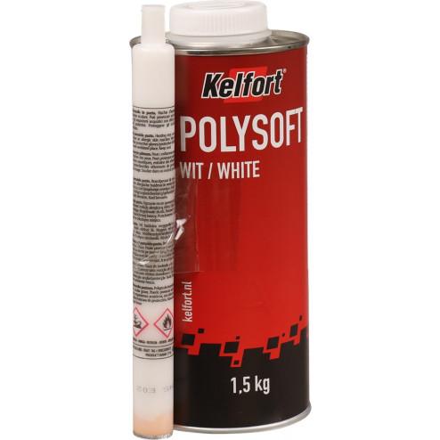Kelfort Polysoft plamuur wit 1.5kg