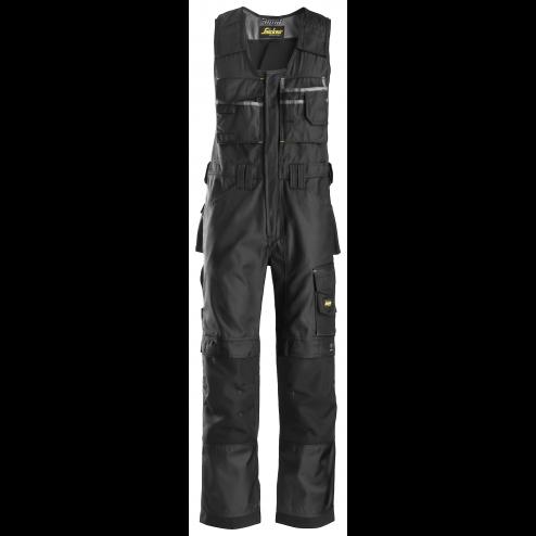 Snickers Bodybroek zwart maat XL taille 54 W38