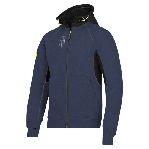 Snickers zipped hoodie donkerblauw maat XL