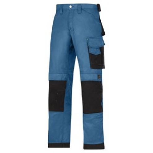 Snickers Werkbroek lichtblauw maat M taille 50 W34