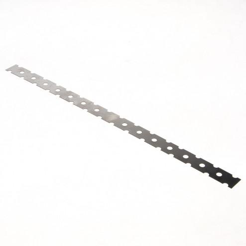 GB Lijmkoppelstrip RVS 400 x 22mm 21218