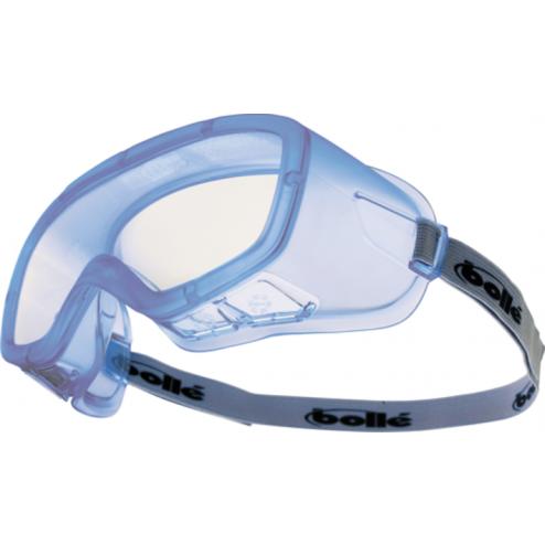 Bolle Veiligheidsstofbril anti condens blank