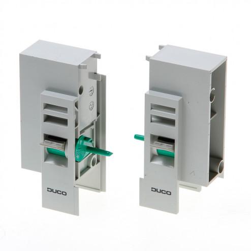 Bed.sets Ducoflat ventilatierooster  12zr/k24 grijs