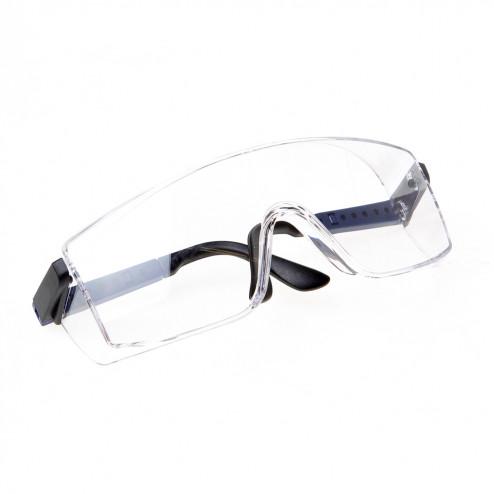 Bolle Veiligheids bril frame blauw helder glas
