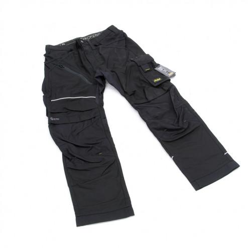 Snickers RuffWork broek met holsterzak zwart maat L taille 52 W36