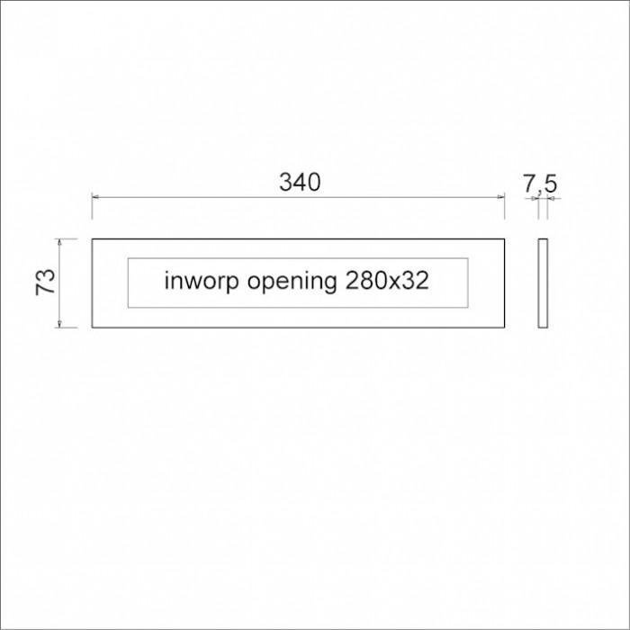Geliefde Ami Briefplaat met veer, F1r , binnendraaiend met veer type DL TR65