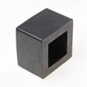 Mokerdop rubber 1250-1500gr ¦ 43x43mm