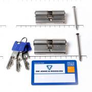 Winkhaus Set cilinders dubbel (2 stuks) buiten x binnen 30/30mm voorzien van SKG *** met certificaat en 6 sleutels