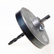 Ubbink Gatzaaghouder inclusief zaagje diameter 100mm voor bakgoot