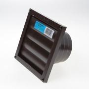 Dupont Lamellenrooster kunststof bruin 165 x 165mm