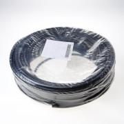 Kabel rubber glad zwart 3 x 1.5mm²