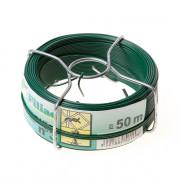 Filiac Draadspoel groen geplastificeerd verzinkt no. 3 115mm x 50 meter