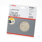 Bosch Schuurschijfnet Wood and Paint 150mm K220 M480 blister van 5 schijven