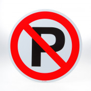 ATV Safety Parkeren verboden 300mm PVC