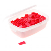 GB Stelwig rood kunststof 40 x 23 x 5mm 340010