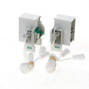 Koordbed.set Ducosmart ventilatierooster 60/38 grijs