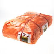 Dekkleed oranje ca.10x12m