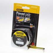 Stanley Rolbandmaat powerlock boveninkijkvenster 10 meter x 25mm 0-33-442