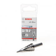 Bosch Trappenboor HSS-G 9-traps diameter 4-20mm