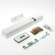 Axa remote 2.0 met raamopener wit voor draairaam buitendraaiend links SKG** 2902-65-98