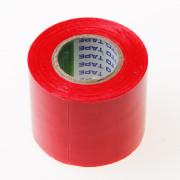 Isolatietape rood 50mm x 10 meter