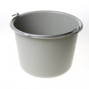 Berdal Bouwemmer grijs met opdruk eigendom aannemer 12 liter