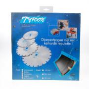 Voorden Diamantzaag nat Tyfoon beton diameter 250 x asgat 30mm